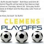 Clemens Soccer Double Header!