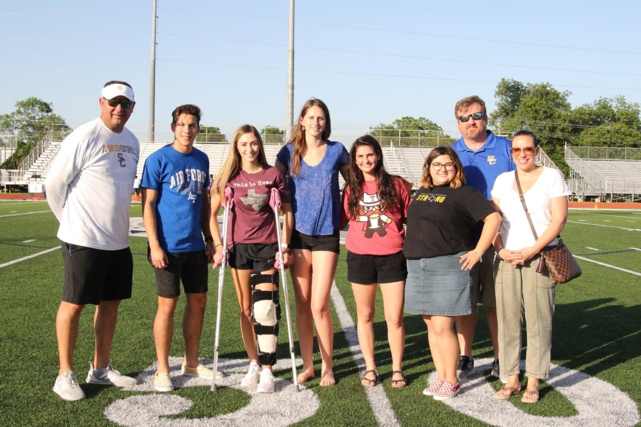 2018/2019 All Sports Booster Club Scholarship Winners
