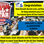 Congratulations to Clemens players and Football Coaching Staff!