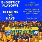 Volleyball Bi-District Playoff Information