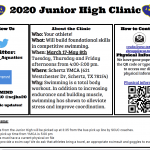 Clemens – Jr. High Swim Clinic Information