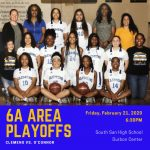 Girls Basketball Area Playoff Information