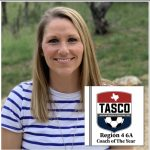 TASCO Coach of the Year!