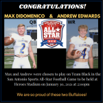 Clemens' DiDomenico and Edwards Chosen for 2021 All-Star Game