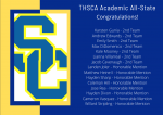 Football – THSCA Academic All-State Recipients