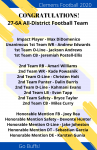 Congratulations 27-6A All-District Football Team!