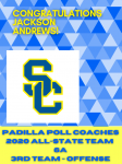 Jackson Andrews – Padilla Poll Coaches All-State Team