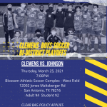 Clemens Boys Soccer Bi-District Playoff Information