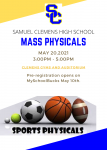 2021-22 Mass Physicals at Clemens