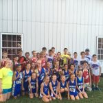 South Knox Girls Middle School Cross Country finishes 1st place
