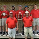 Boys Varsity Golf finishes 1st place at Knox County Open