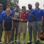 Boys Varsity Golf finishes 1st place at Ihsaa Sectional
