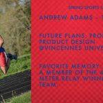 SPARTAN SENIOR SPOTIGHT – ANDREW ADAMS