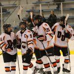 Edsel Ford High School Boys Varsity Hockey falls to Riverview Comm HS 1-4