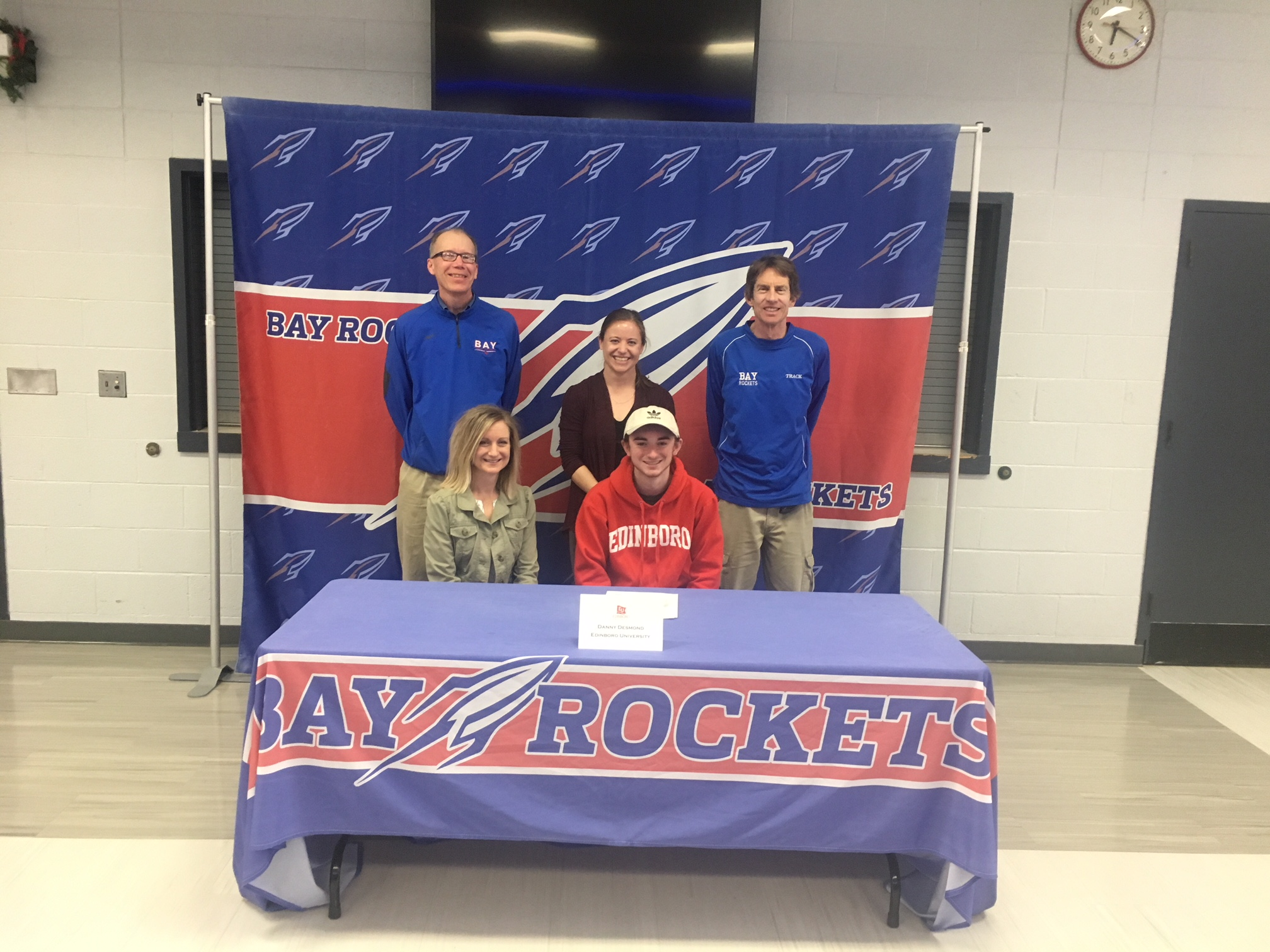 Danny Desmond Signs with Edinboro University