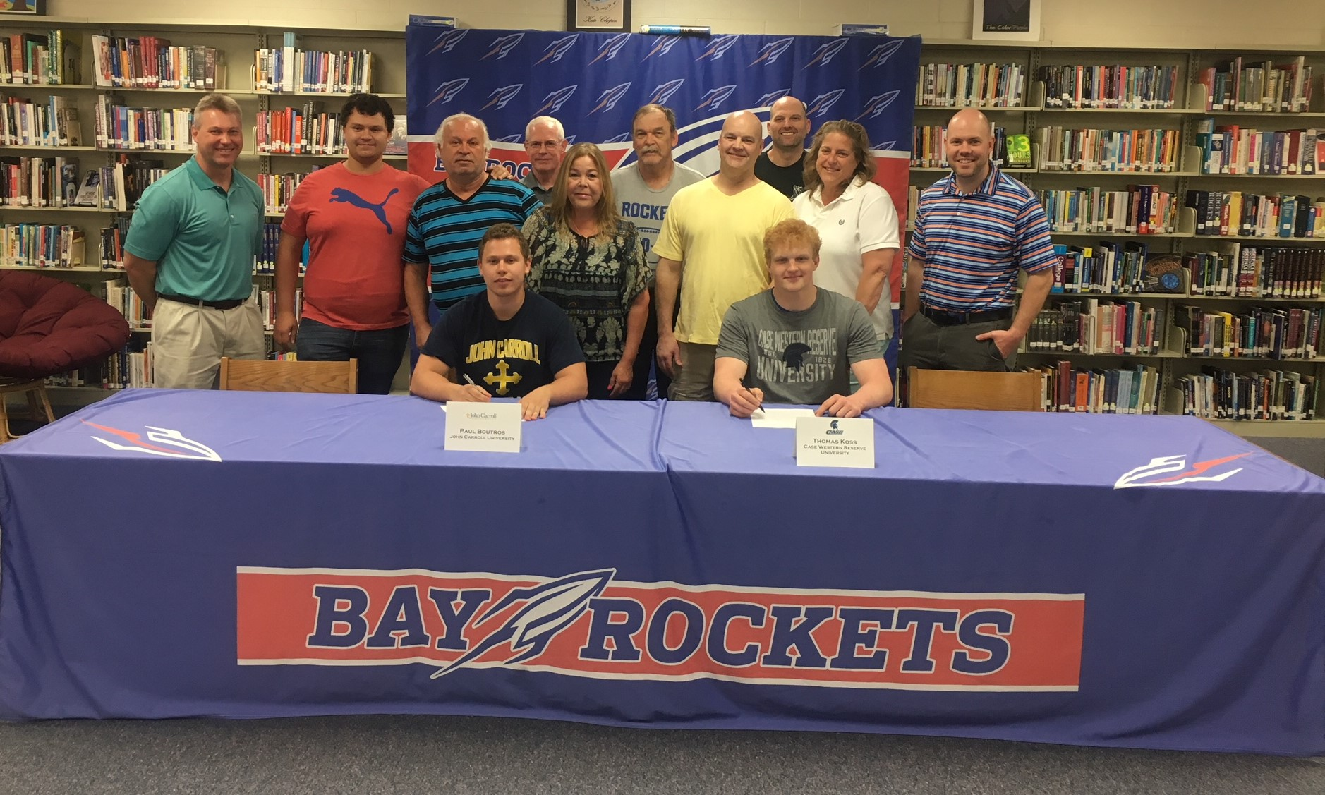 Paul Boutros and Thomas Koss to Continue Academic and Football Careers in College