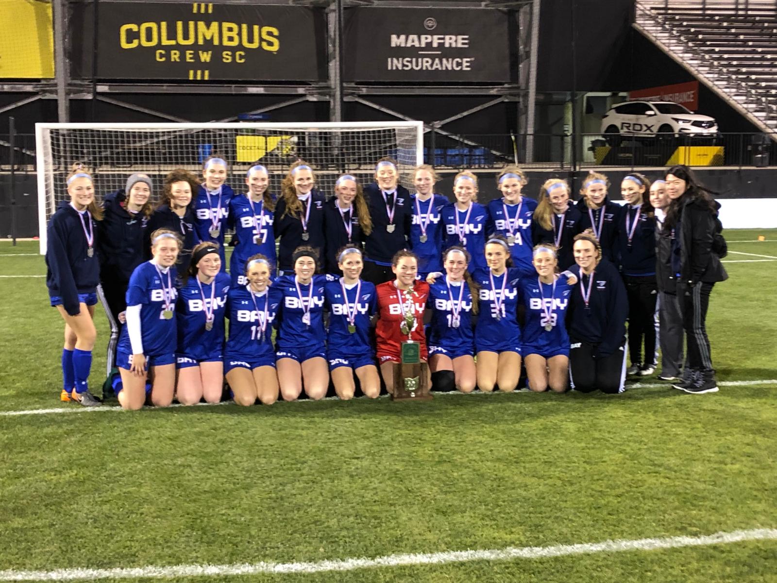 Girls Soccer State Runner-up