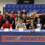 "Bay Athletes Sign ""National Letters of Intent"""