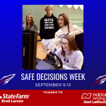 Bay High School Supports Safe Driving!  Don't Drive When Drowsy!