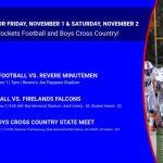 Events for Friday, November 1 and Saturday, November 2