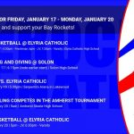 Events for Friday, January 17 – Monday, January 20