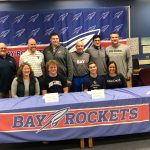 "Aidan Bozak and Logan LaMere sign ""National Letters of Intent"""