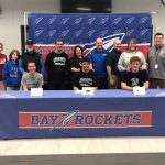 """Sophia Beauchesne, Jonathan Koss, and Klevin Mici sign """"National Letters of Intent"""""""