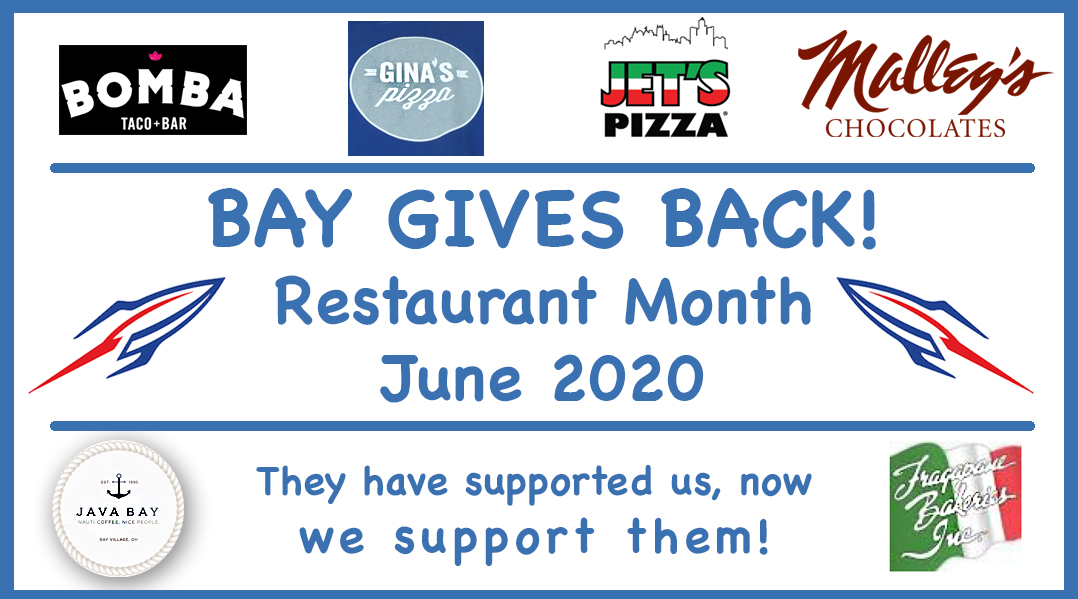 Bay Gives Back Continues with New Places in June!!
