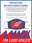 One Rocket Nation Masks are Here!!