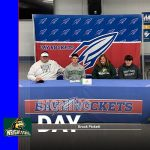 "Brock Pickett signs his ""National Letter of Intent"" with Wright State University"
