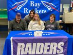 """Kenna Johnston signs her """"National Letter of Intent"""" with University of Mount Union"""