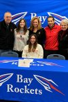 "Isa Hinojosa signs her ""National Letter of Intent"" with Lake Forest College"