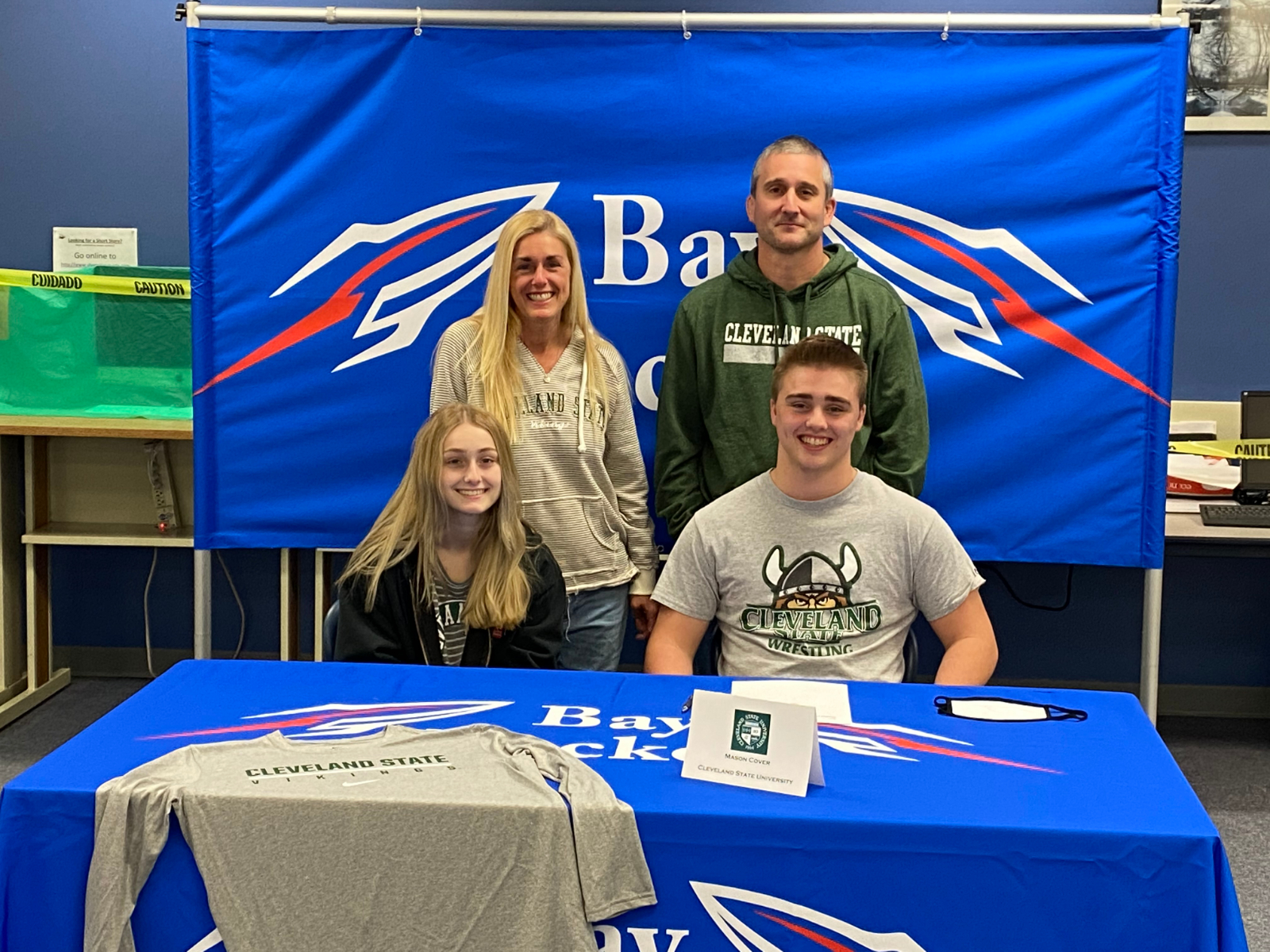 Mason Cover Commits to Cleveland State University