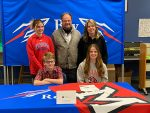 """Chloe Rickson signs her """"National Letter of Intent"""" with Miami University"""