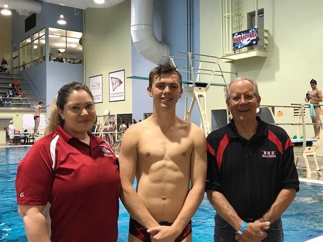 Congrats to Diver: James Lende