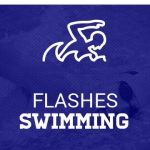 Lady Flashes Swimming Sets New School Record
