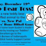 Teddy Bear Toss – 12/19/15