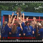 FRANKLIN CENTRAL VARSITY GIRLS SOFTBALL ARE THE #1 MARION COUNTY CHAMPS