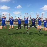 Franklin Central High School Girls Varsity Cross Country finishes 1st place