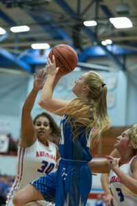 Girls Basketball vs Martinsville in Sectional Championship
