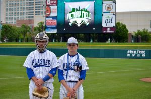 Varsity Baseball at Victory Field – Photo Gallery