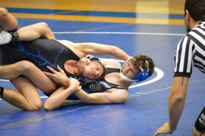 Wrestling: Black vs. Blue Intersquad Dual