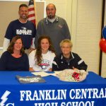 FCHS' Kaite Back Signs with Southern Indiana Screamin' Eagles!