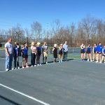'18 FCHS Girls Tennis Senior Night
