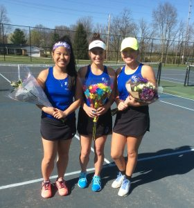'18 FCHS Girls Tennis Senior Night