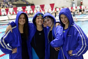 17-18 Girls Swimming Went to State