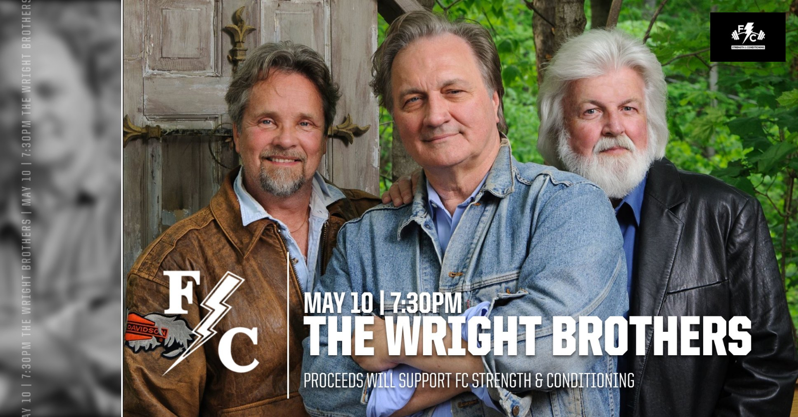The Wright Brothers Concert – May 10