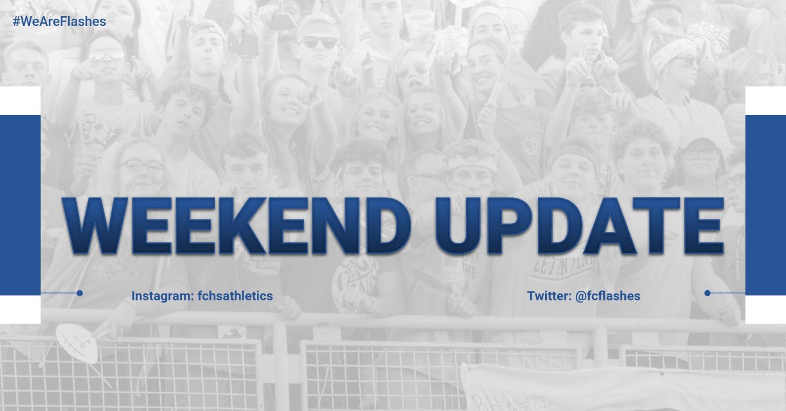 Weekend Update – 9/13+9/14