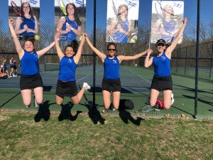 Photo Gallery –  Girls Tennis, Seniors 2019