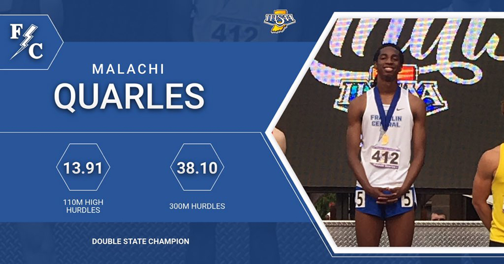 Quarles Wins Two State Titles and Mental Attitude Award